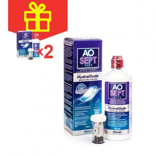 AOSept Plus HydraGlyde (360 ml)